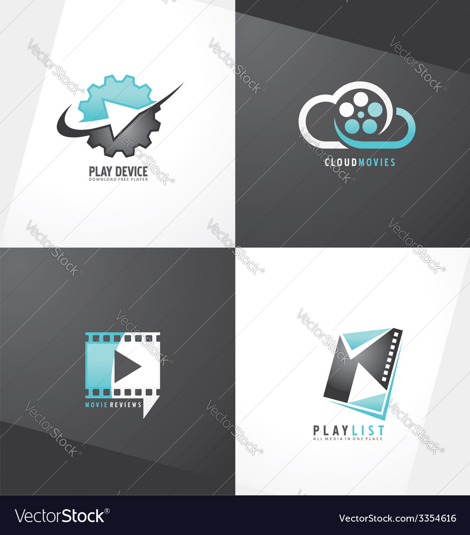 Movie logo designs vector | Price: 1 Credit (USD $1)
