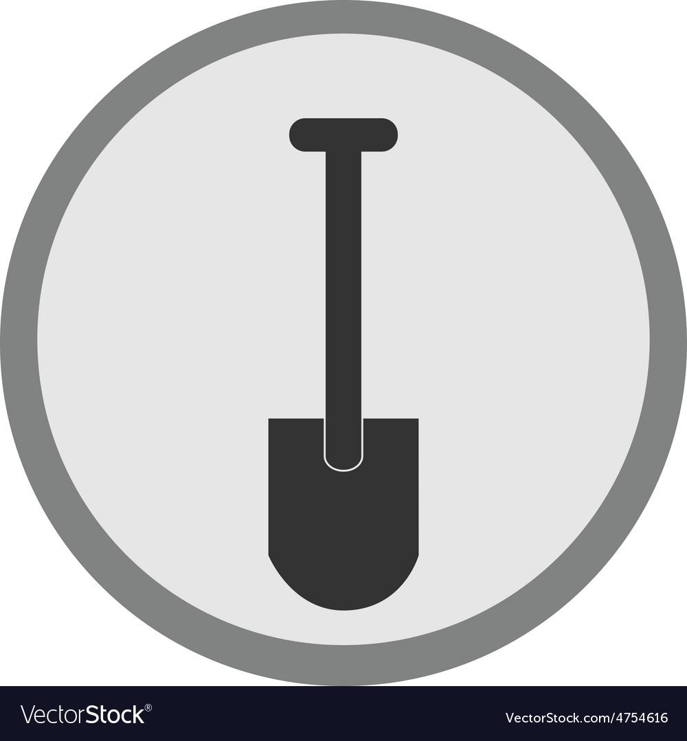 Shovel icon vector | Price: 1 Credit (USD $1)