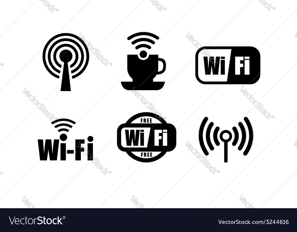 Technology wi fi vector | Price: 1 Credit (USD $1)