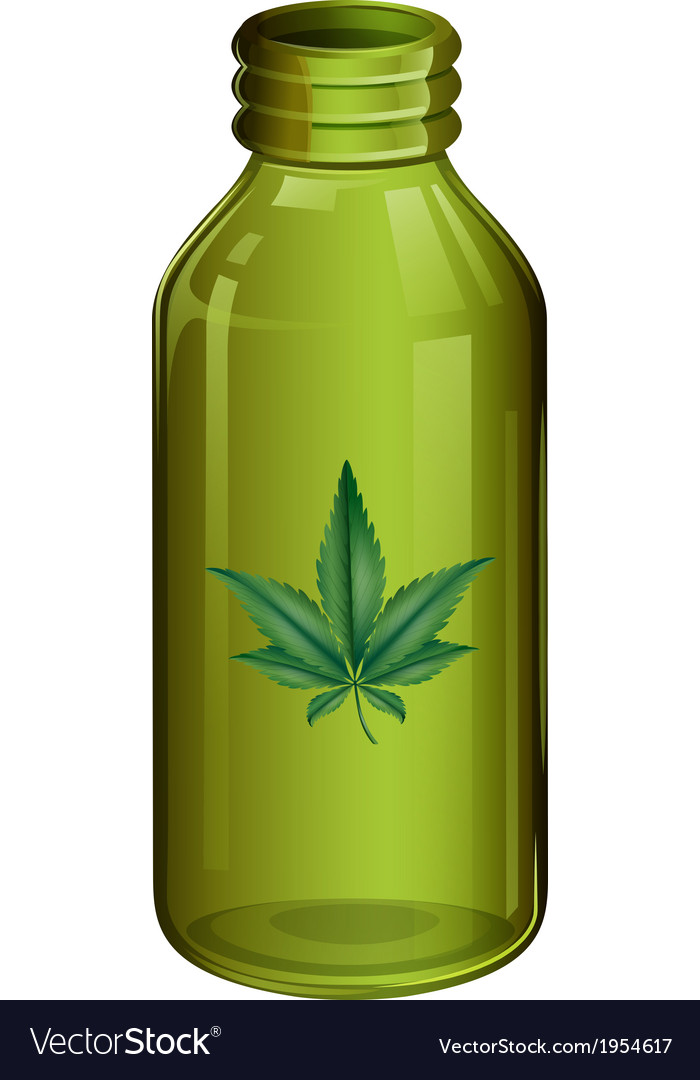 A marijuana vector | Price: 1 Credit (USD $1)