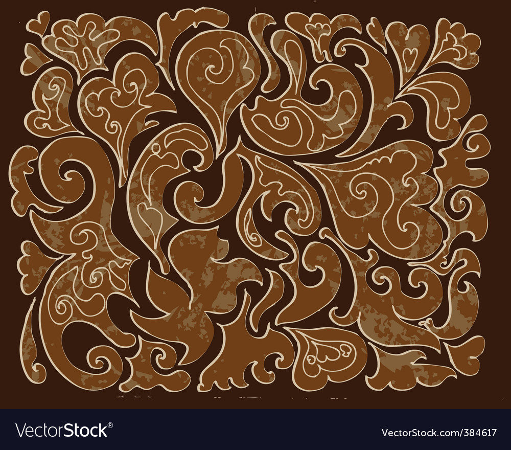 Carved wood pattern vector | Price: 1 Credit (USD $1)
