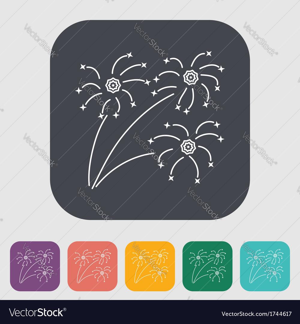 Firework vector | Price: 1 Credit (USD $1)