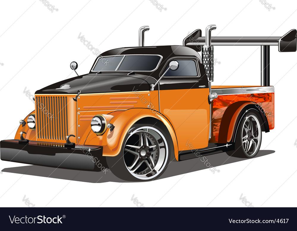 Gaz51 hotrod vector | Price: 5 Credit (USD $5)
