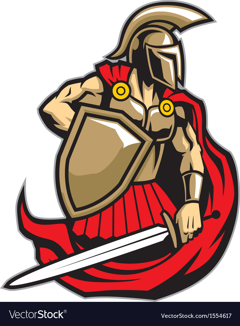 Spartan warrior vector | Price: 3 Credit (USD $3)