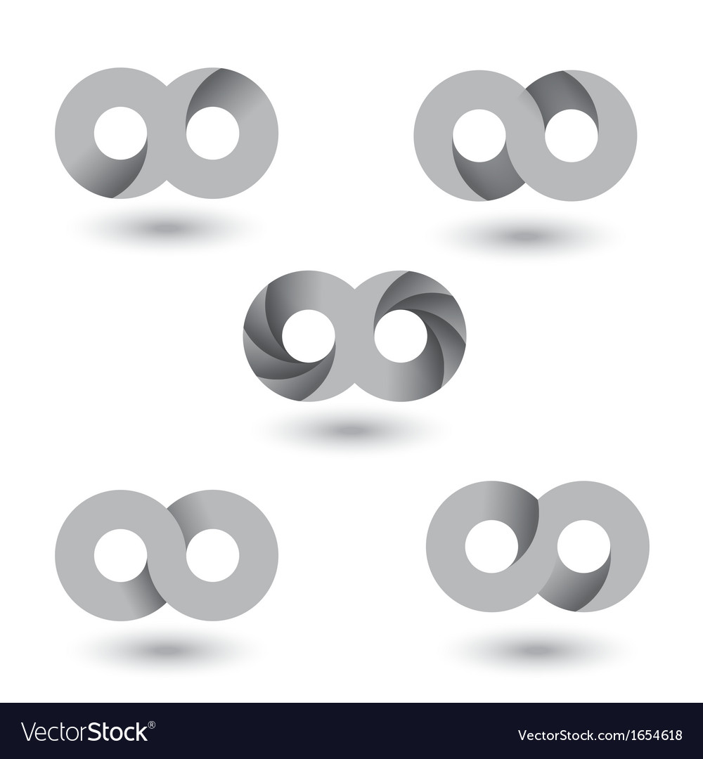 Infinity symbol vs vector | Price: 1 Credit (USD $1)