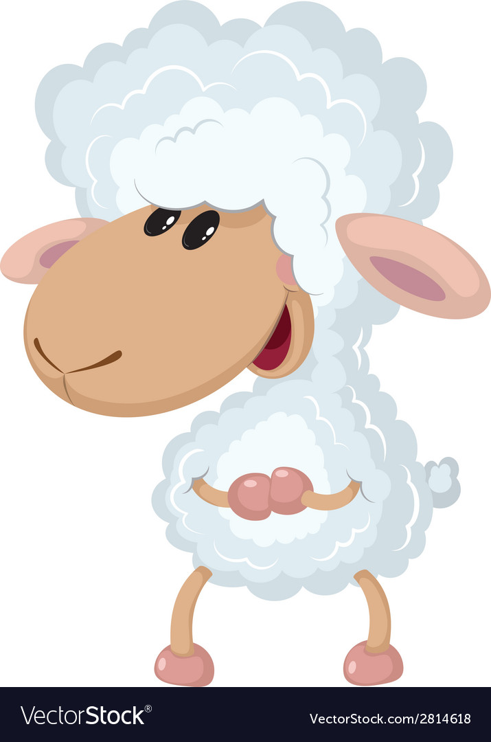 Little lamb vector | Price: 3 Credit (USD $3)
