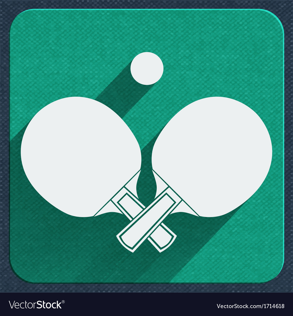 Table tennis icon vector | Price: 1 Credit (USD $1)