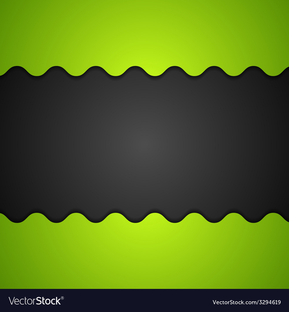 Green and black corporate background vector | Price: 1 Credit (USD $1)