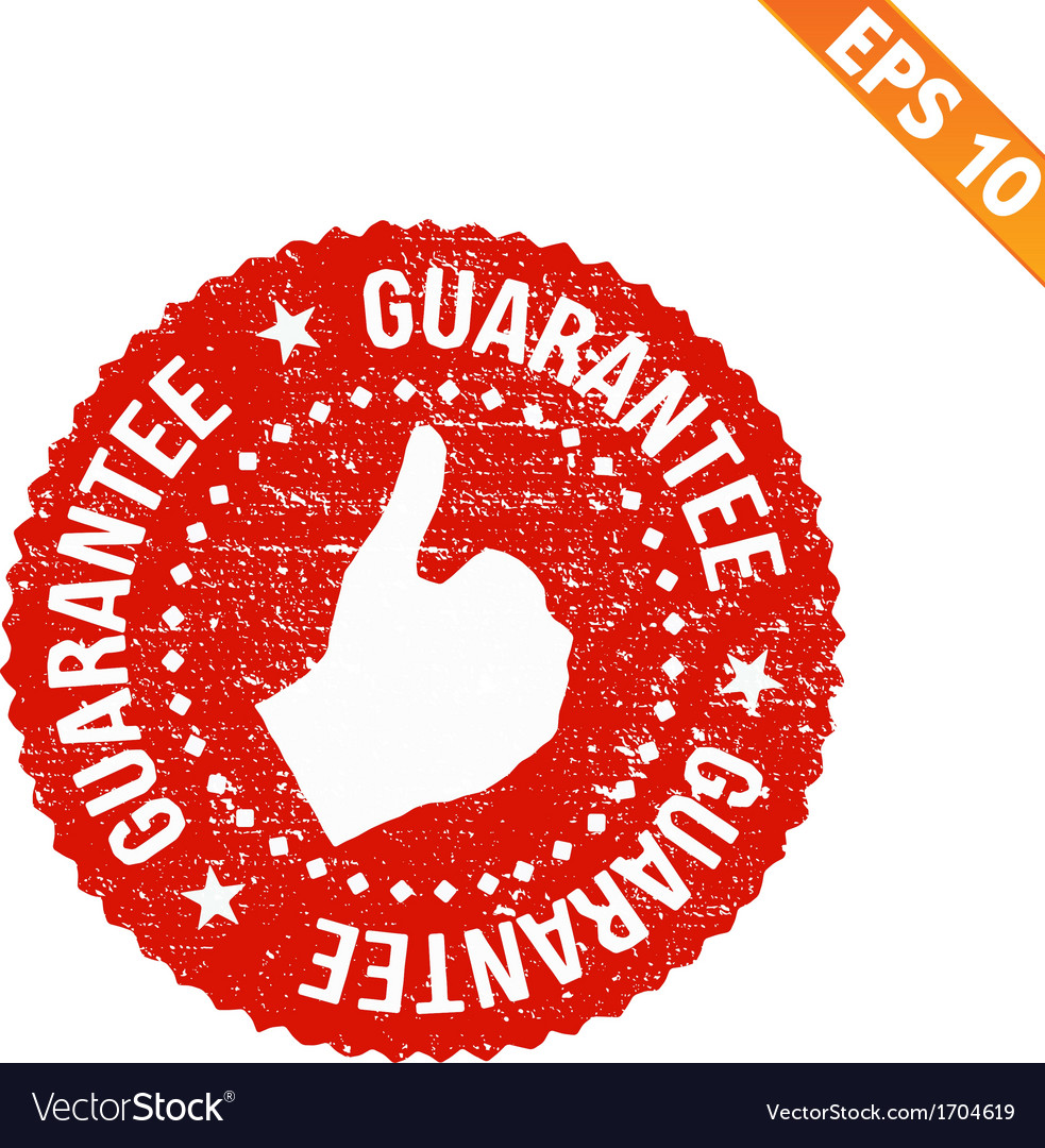 Grunge highest quality guarantee rubber stamp - vector   Price: 1 Credit (USD $1)