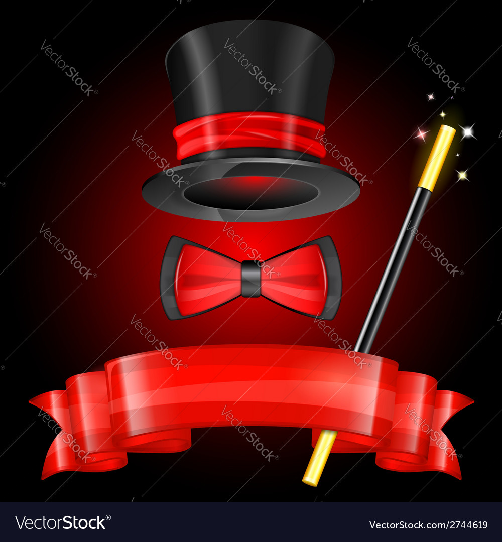 Magician hat vector | Price: 3 Credit (USD $3)
