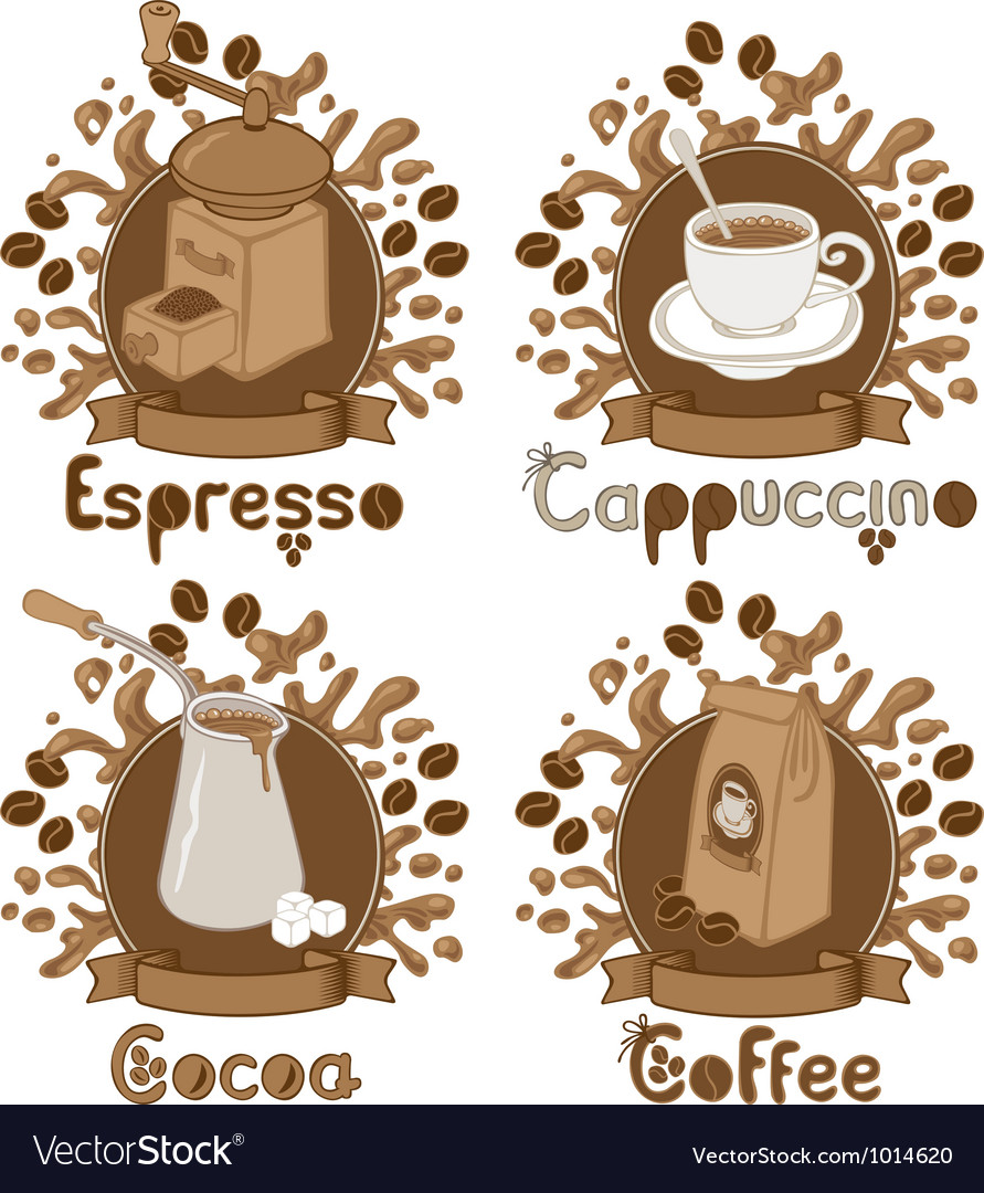 Coffee theme vector | Price: 3 Credit (USD $3)