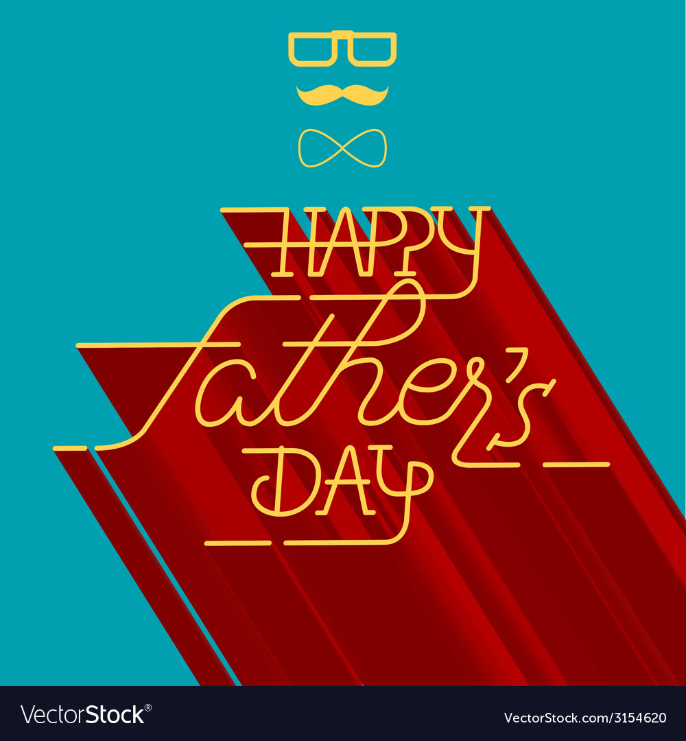 Dad card01 vector | Price: 1 Credit (USD $1)