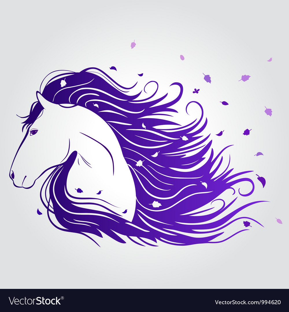 Horse beautiful vector | Price: 1 Credit (USD $1)