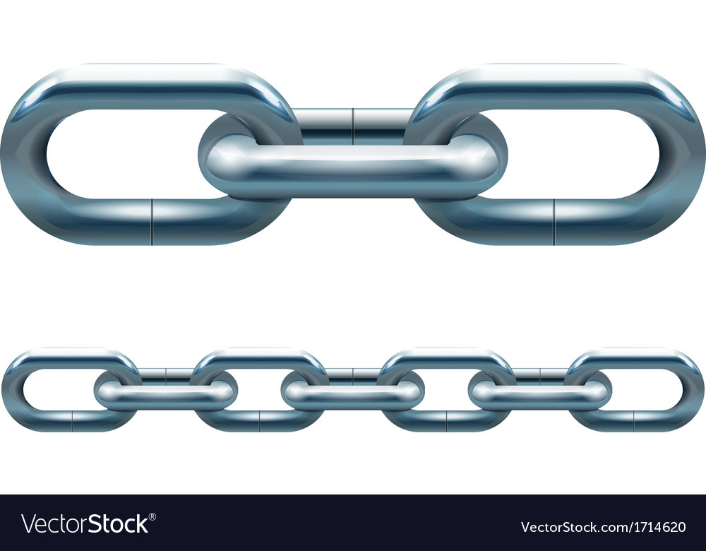 Metal chain vector | Price: 1 Credit (USD $1)