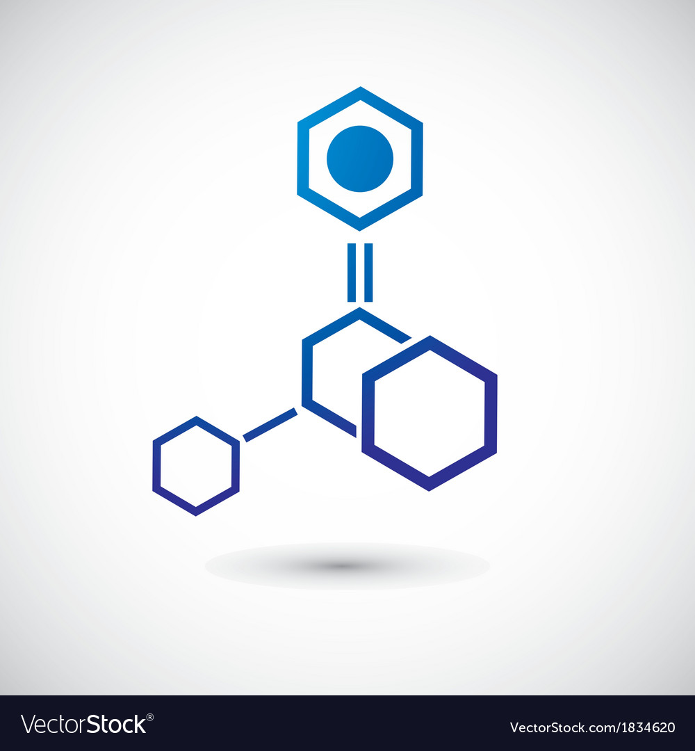 Molecule and communication shape vector | Price: 1 Credit (USD $1)