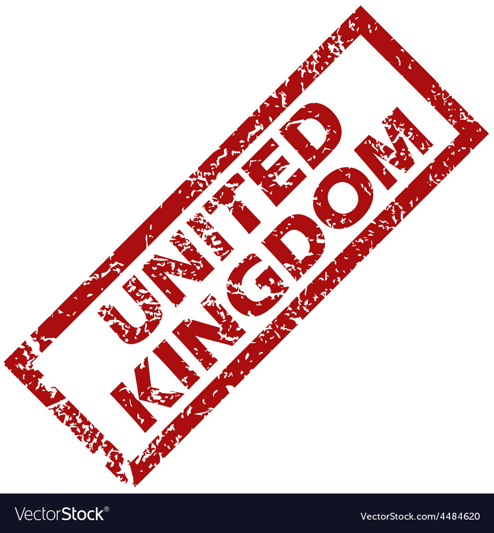 New united kingdom rubber stamp vector | Price: 1 Credit (USD $1)