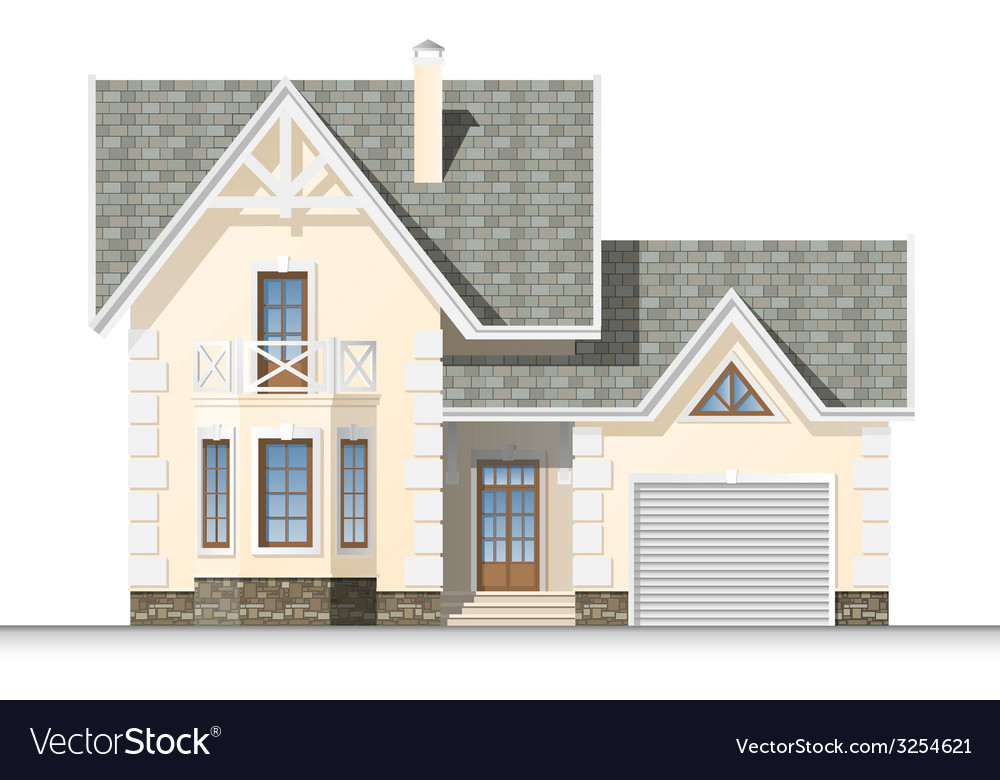 Dream house vector | Price: 3 Credit (USD $3)
