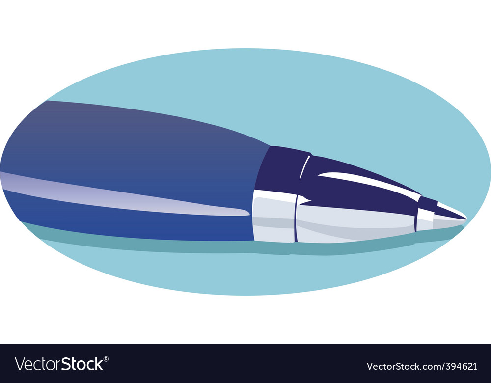 Pen vector | Price: 1 Credit (USD $1)