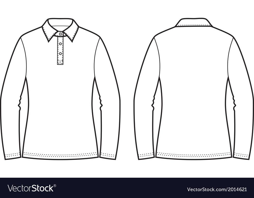 Polo jumper vector | Price: 1 Credit (USD $1)
