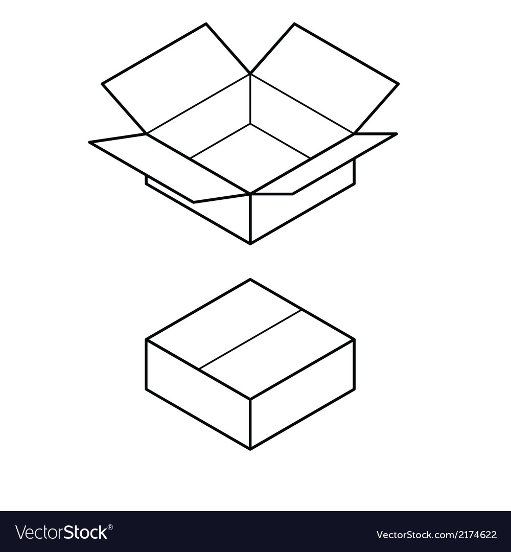Box vector | Price: 1 Credit (USD $1)