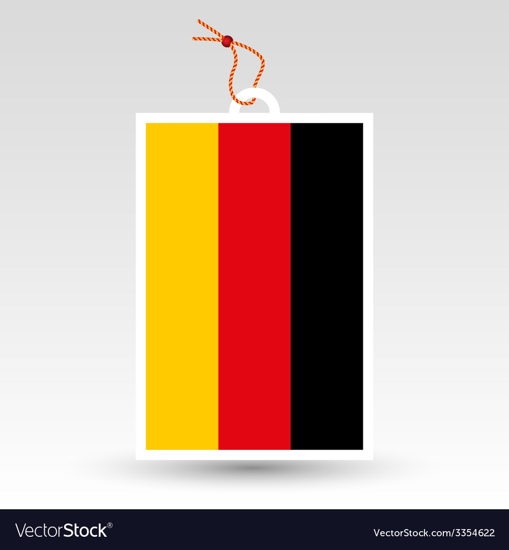 Germany tag vector | Price: 1 Credit (USD $1)