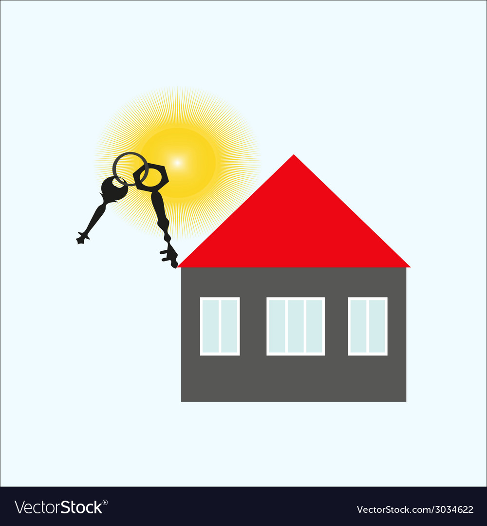 Keys of the house vector | Price: 1 Credit (USD $1)