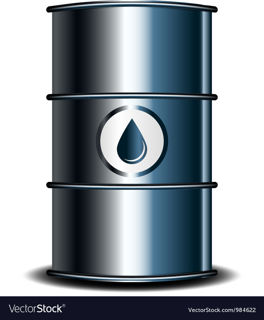 Oil barrel vector | Price: 1 Credit (USD $1)