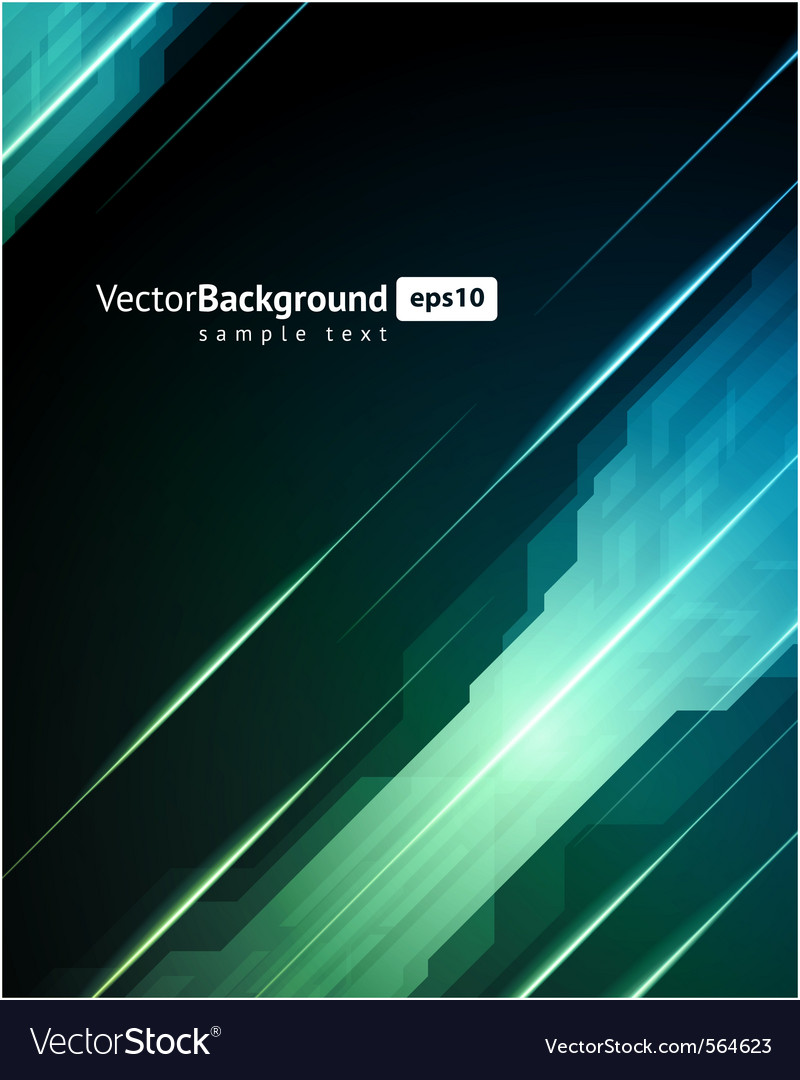 Abstract 3d technology background vector | Price: 1 Credit (USD $1)