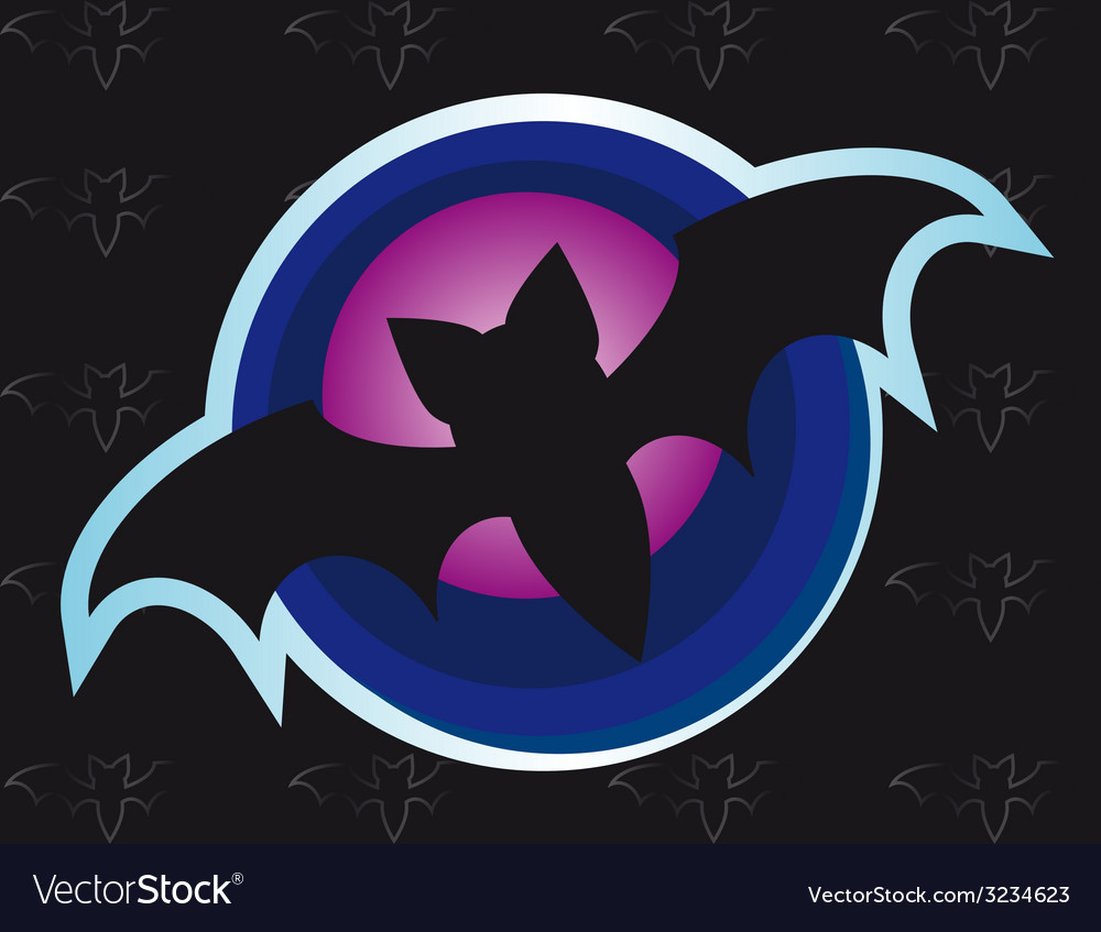 Bat one vector | Price: 1 Credit (USD $1)