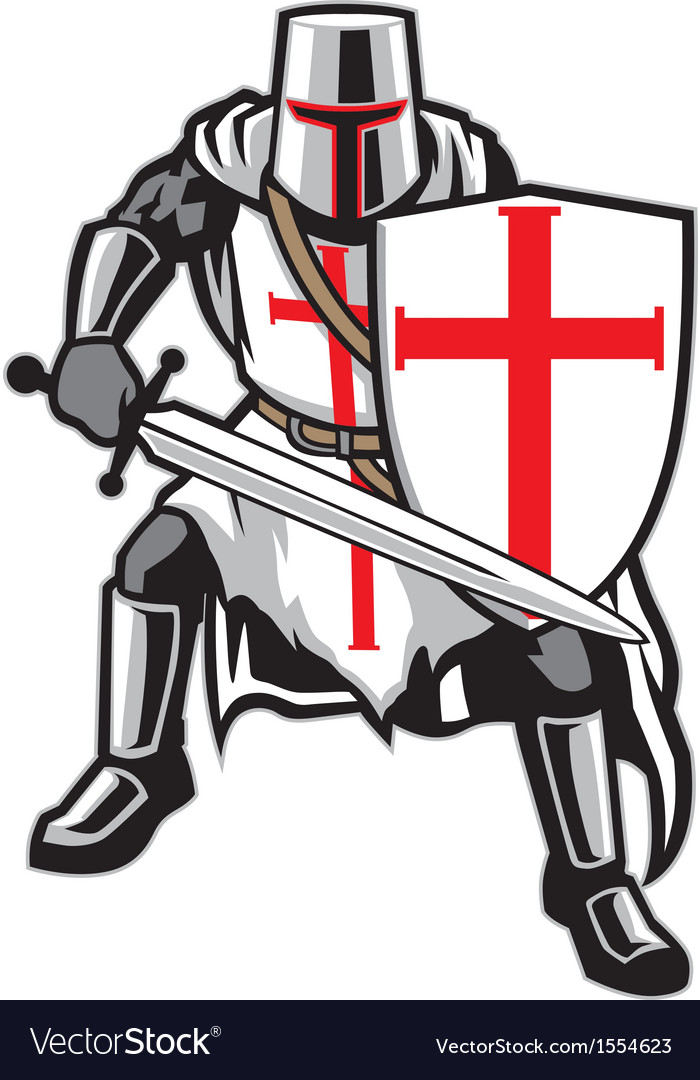 Templar knight vector | Price: 3 Credit (USD $3)