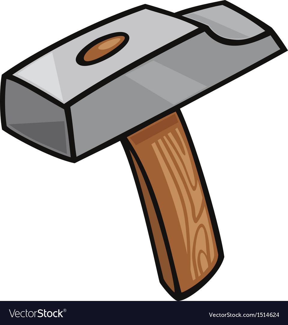 Hammer clip art cartoon vector   Price: 1 Credit (USD $1)