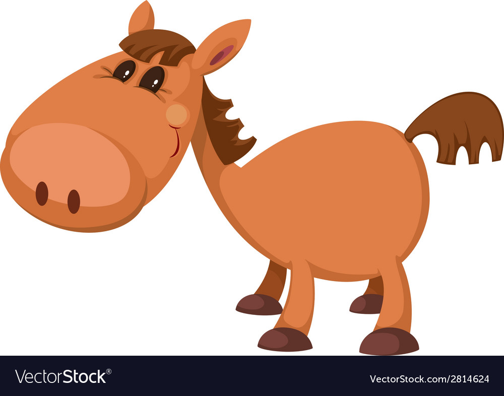 Little horse vector | Price: 3 Credit (USD $3)