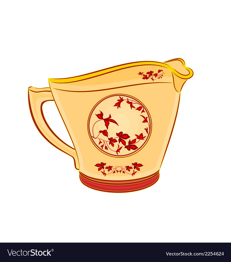 Milk-jug vector | Price: 1 Credit (USD $1)