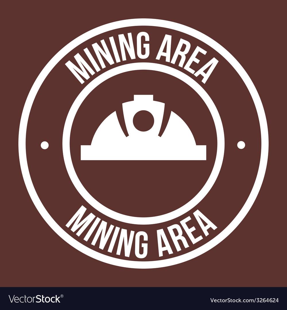 Mining design vector | Price: 1 Credit (USD $1)