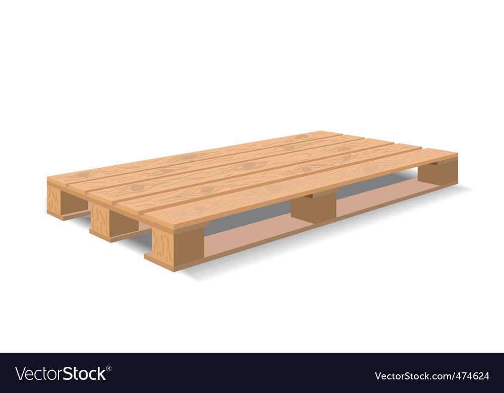 Warehouse pallet vector | Price: 1 Credit (USD $1)