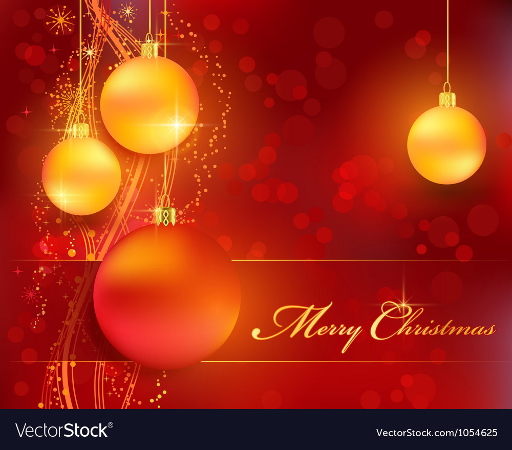 Christmas bokeh background vector | Price: 1 Credit (USD $1)