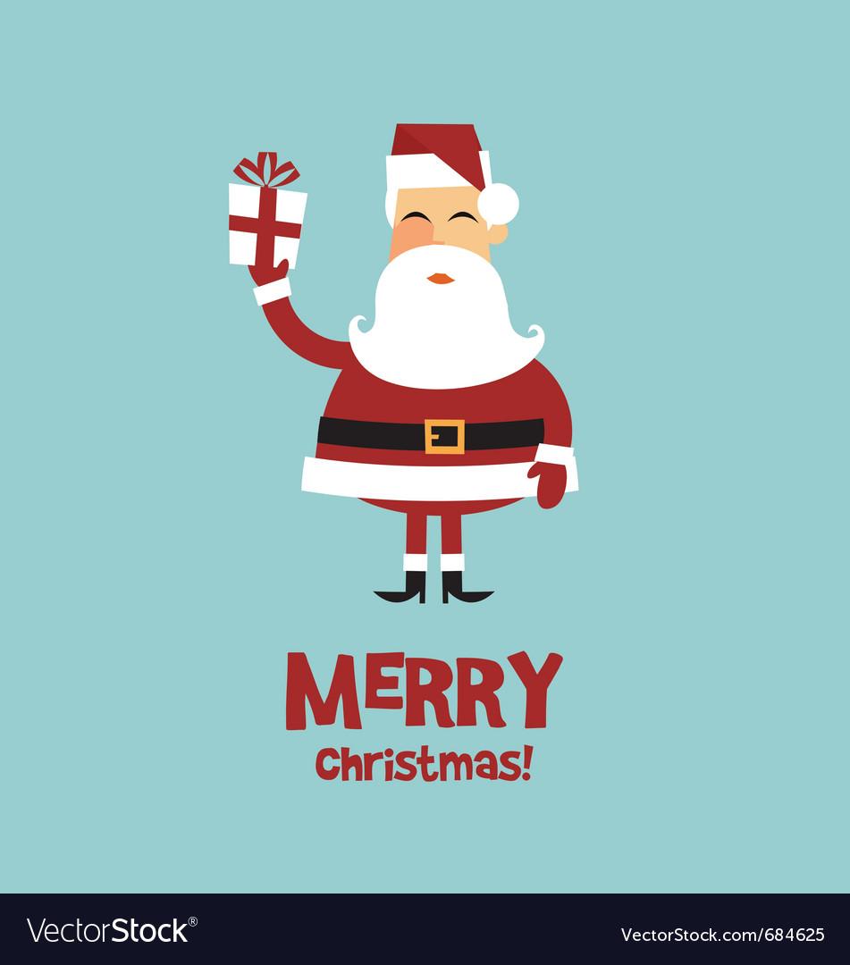 Santa claus card vector   Price: 1 Credit (USD $1)