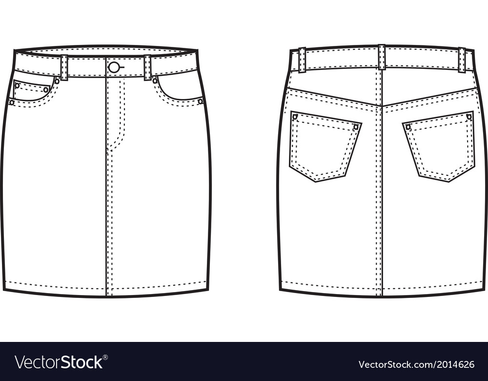 Skirt vector | Price: 1 Credit (USD $1)