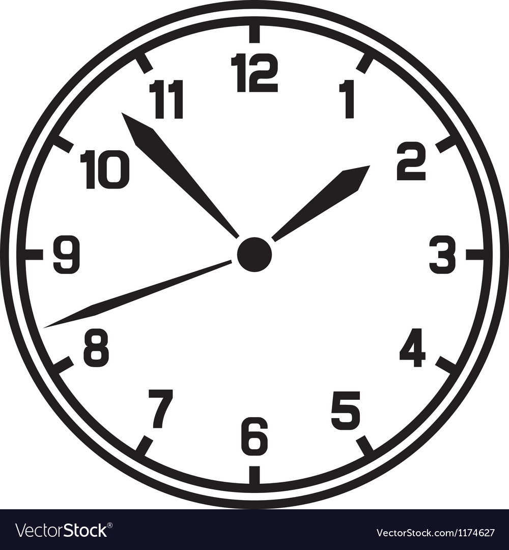 Clock-timer vector | Price: 1 Credit (USD $1)