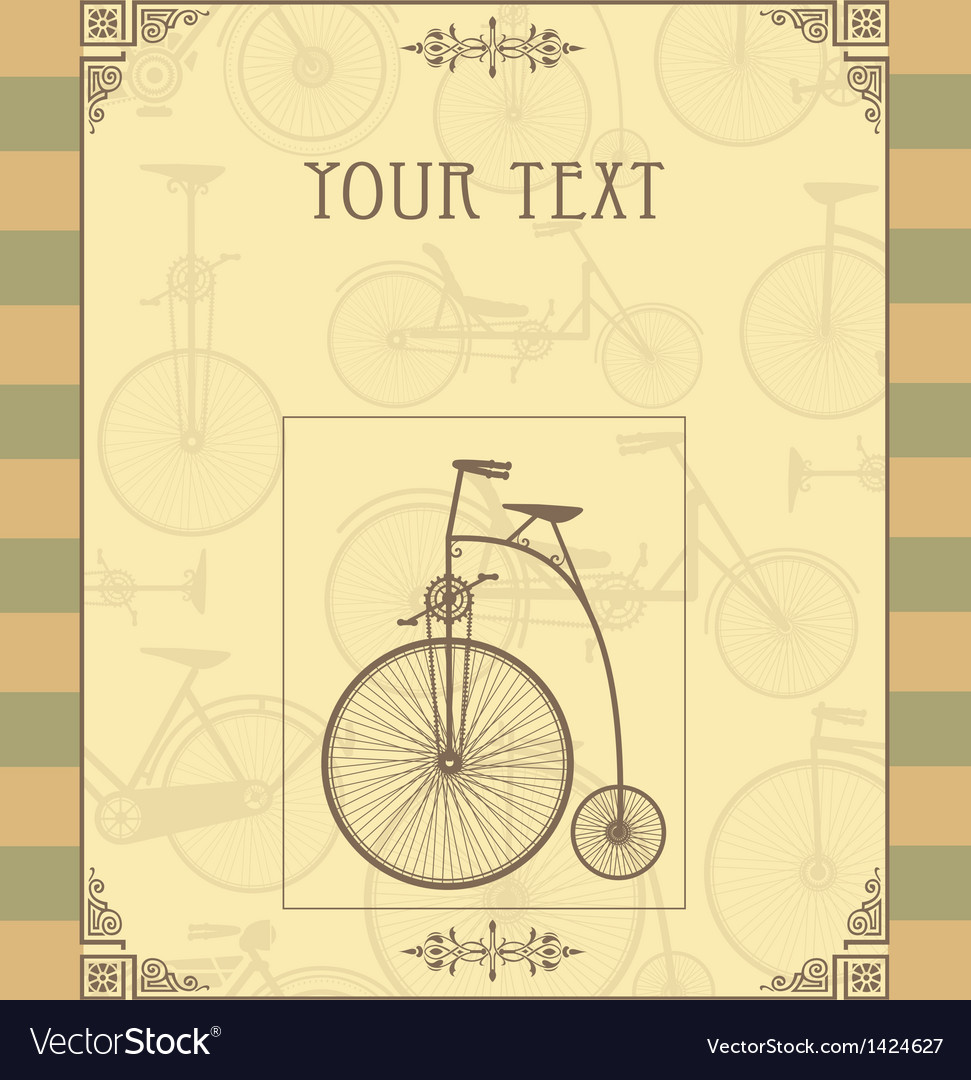 Vintage postcard vector | Price: 1 Credit (USD $1)