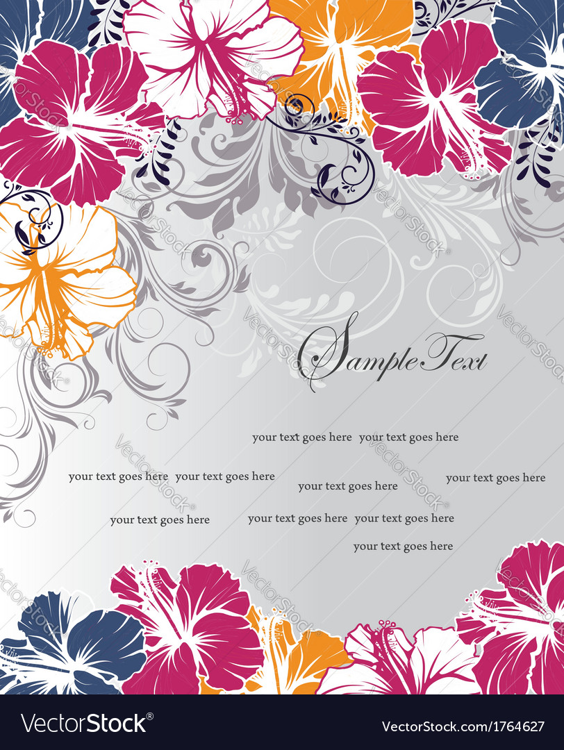 Wedding card or invitation vector | Price: 1 Credit (USD $1)