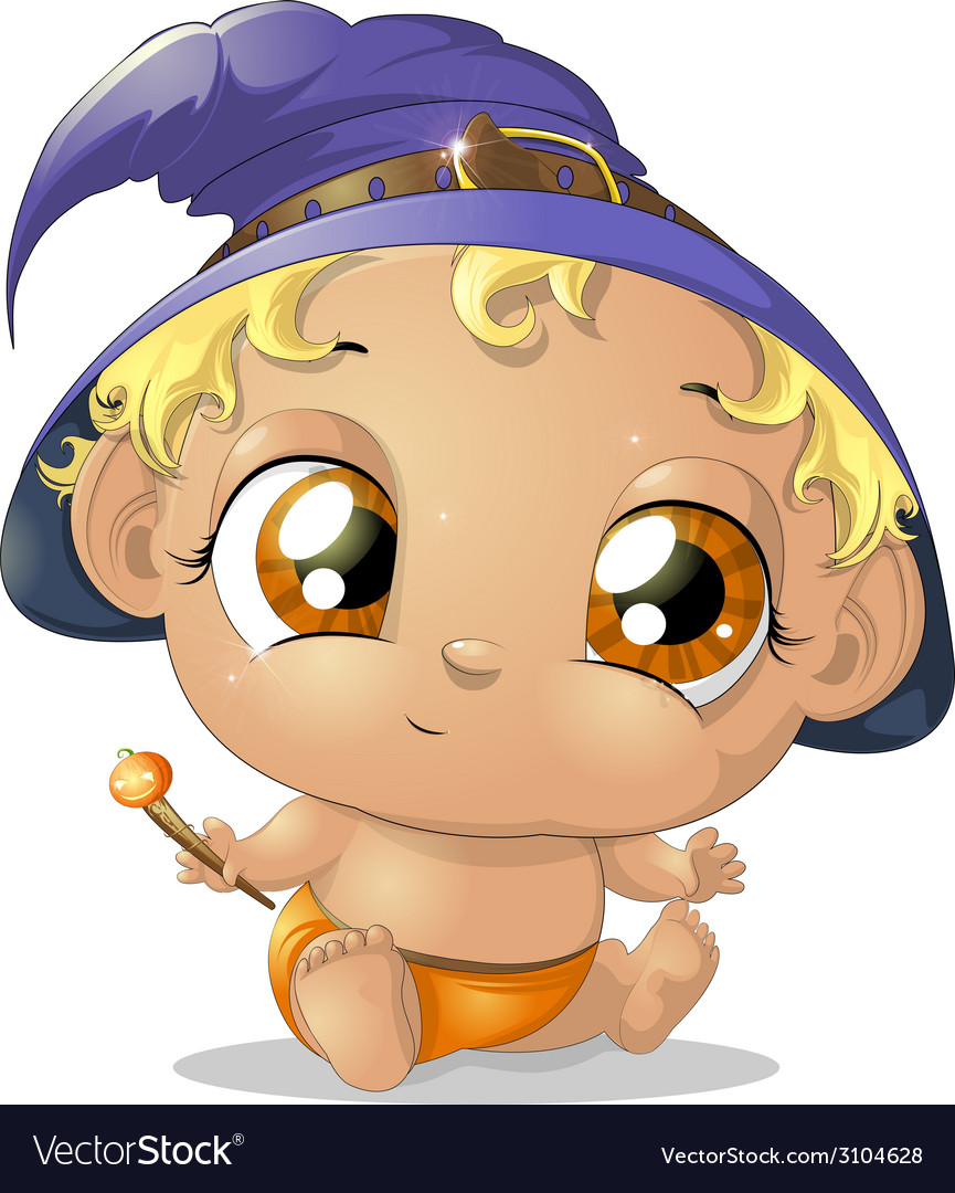 Baby halloween vector | Price: 1 Credit (USD $1)