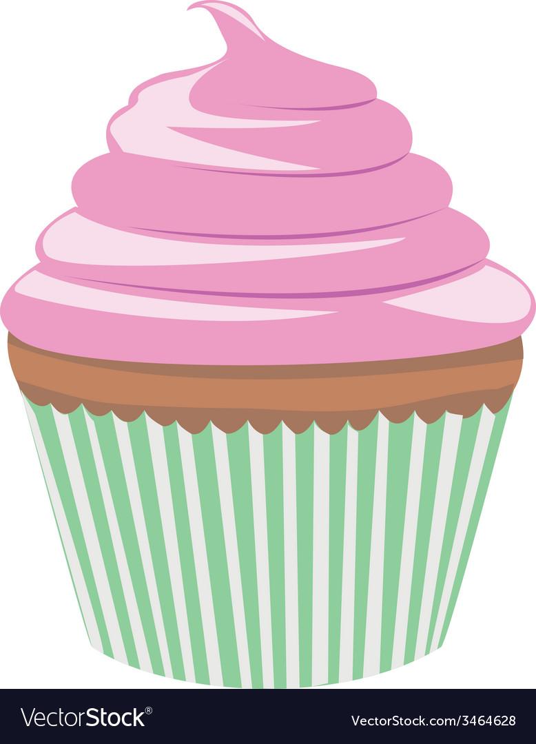 Cupcake vector | Price: 1 Credit (USD $1)