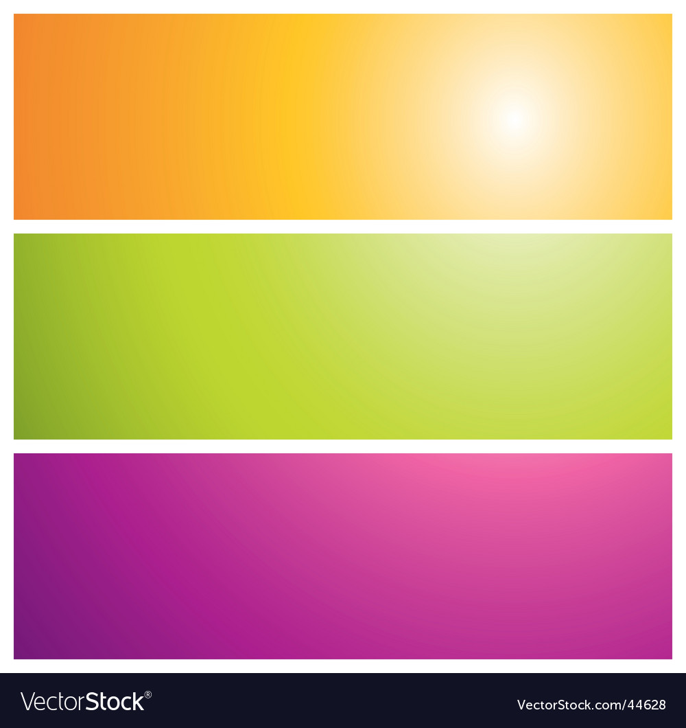 Sunburst banners illustration vector | Price: 1 Credit (USD $1)