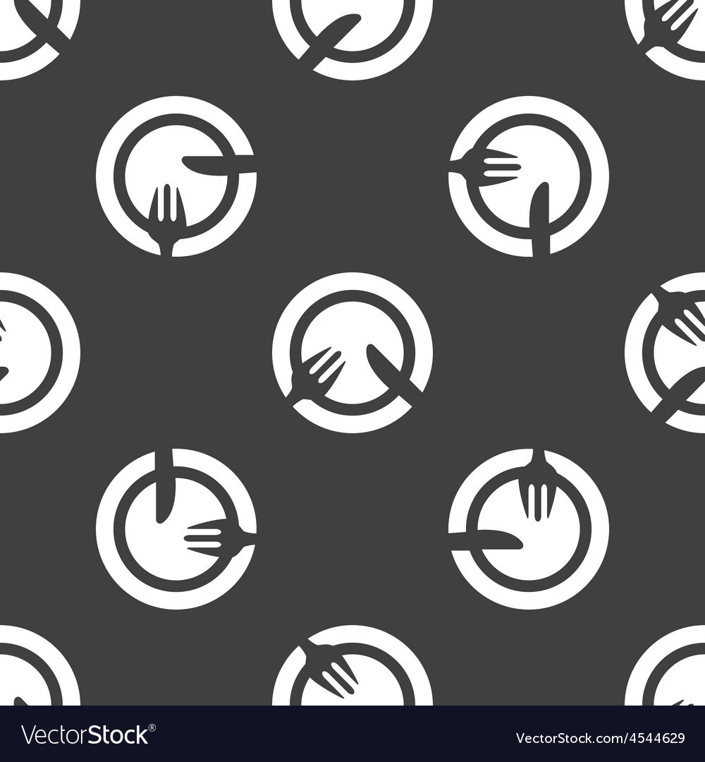 Dishware pattern vector | Price: 1 Credit (USD $1)