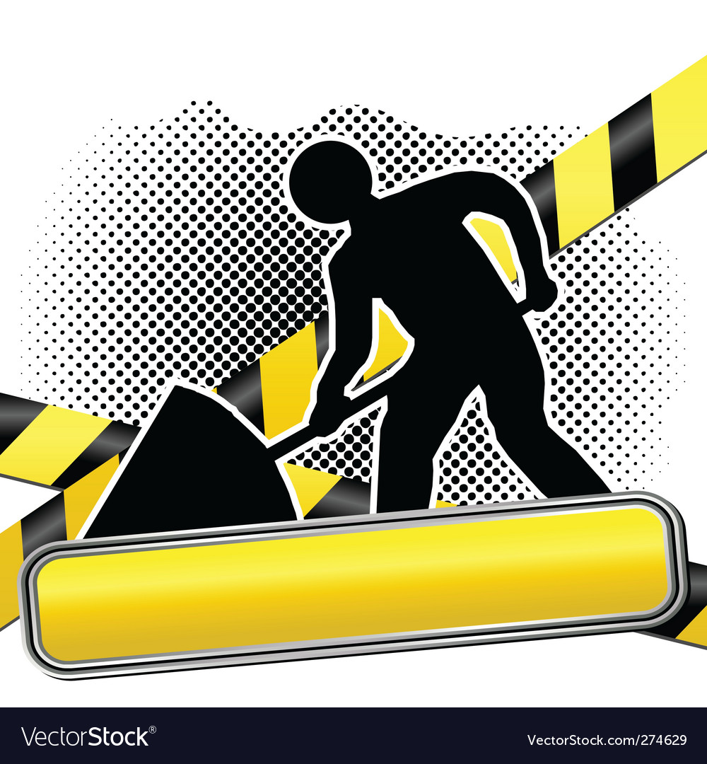 Men at work background vector | Price: 1 Credit (USD $1)
