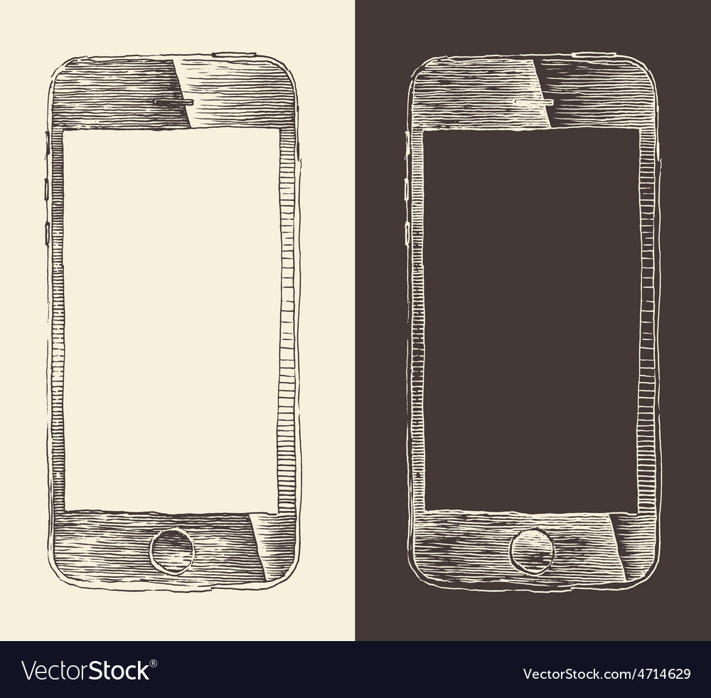 Smart phone iphone smartphone mobile tablet vector | Price: 1 Credit (USD $1)