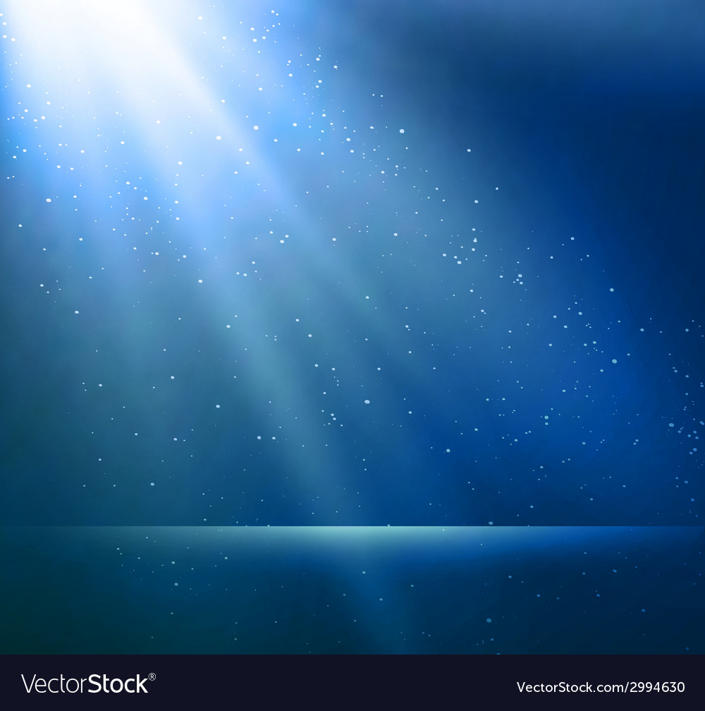 Abstract magic blue light background vector | Price: 1 Credit (USD $1)