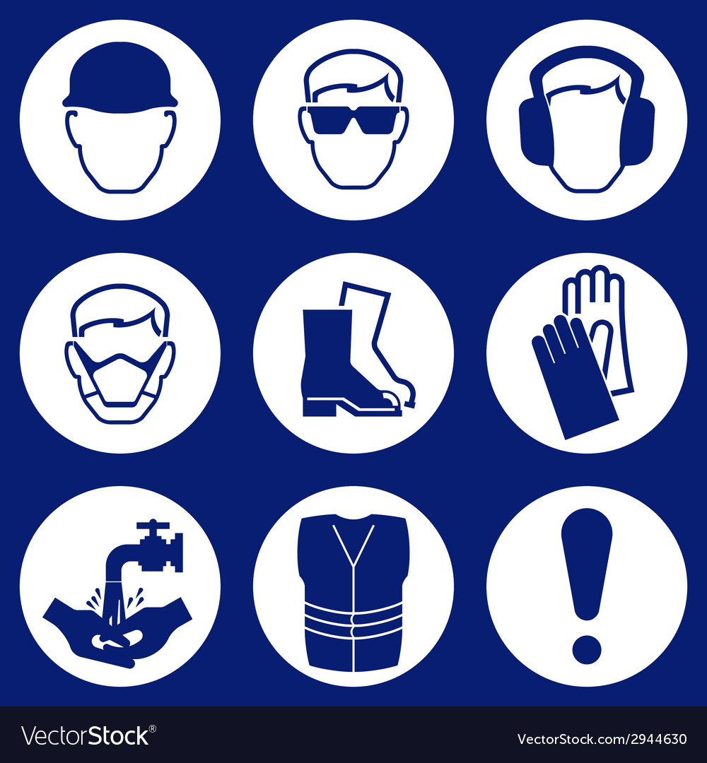 Construction industry icons vector