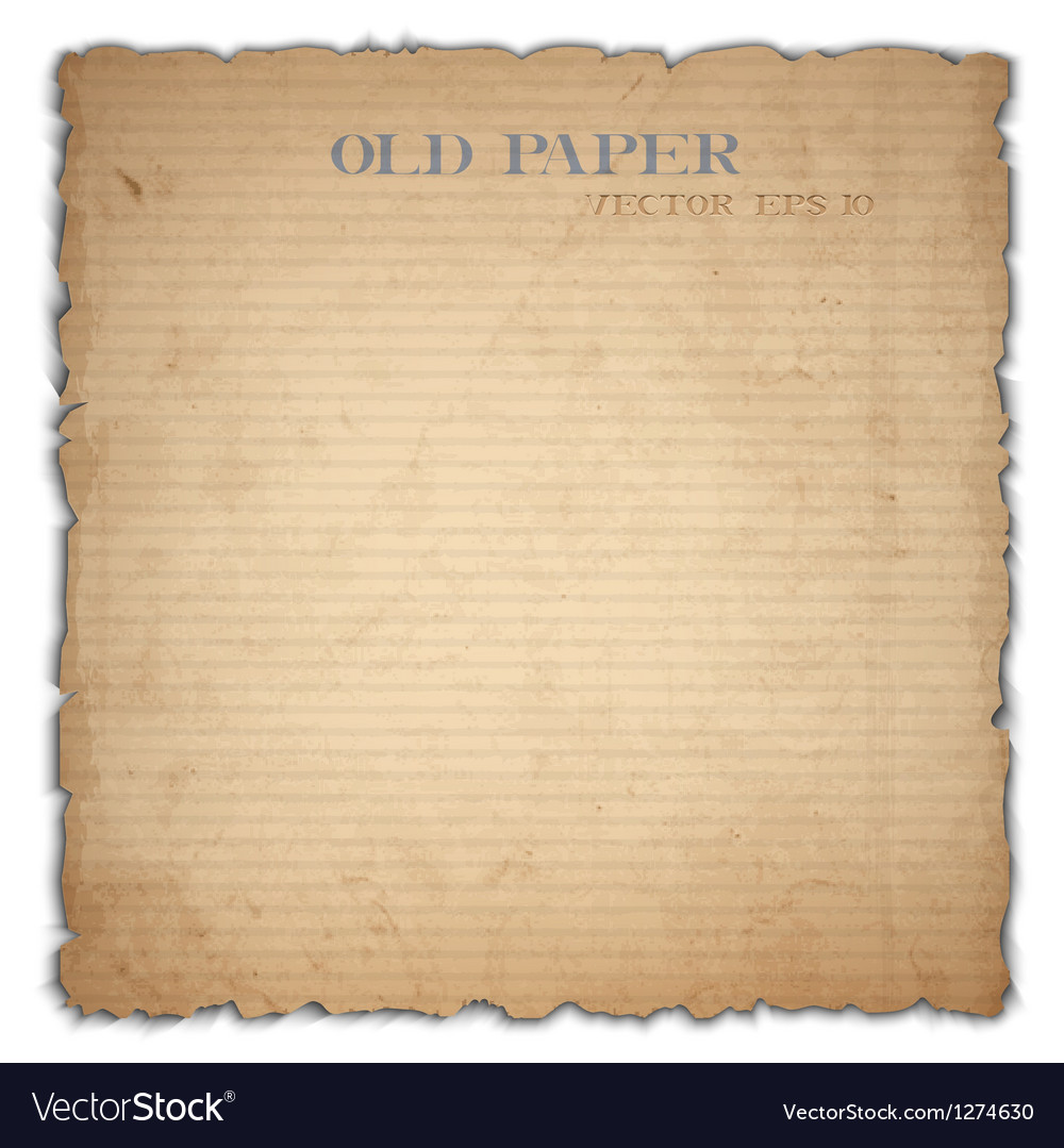 Sheet of old cardboard vector | Price: 1 Credit (USD $1)